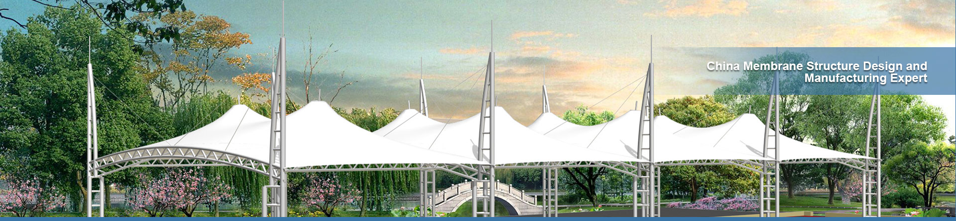 ETFE Transparent Membrane Structure