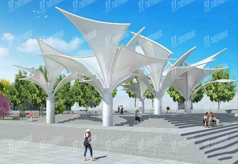 Dongguan Dongjiang West Bank Special-shaped Steel Structure Project
