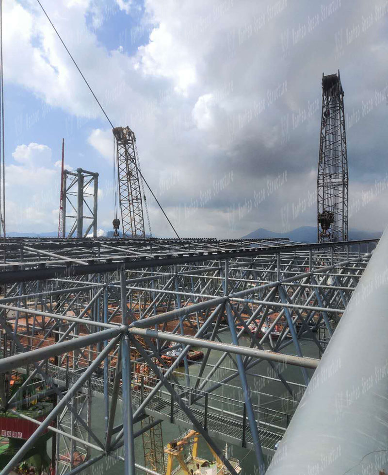 Indonesia Morowwall Town Industrial Park Roofing Project