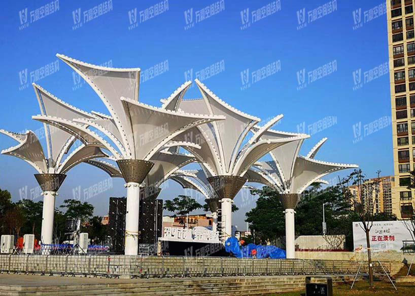 Landscape Membrane Structure