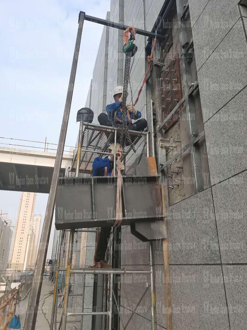 Xintai Excellence·Fortune Plaza Membrane Structure Project