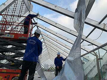 What Are the Main Contents of Etfe Membrane Structure Design?
