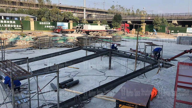 Shaoxing International Convention and Exhibition Center Phase I Conference Center B area PTFE membrane structure project