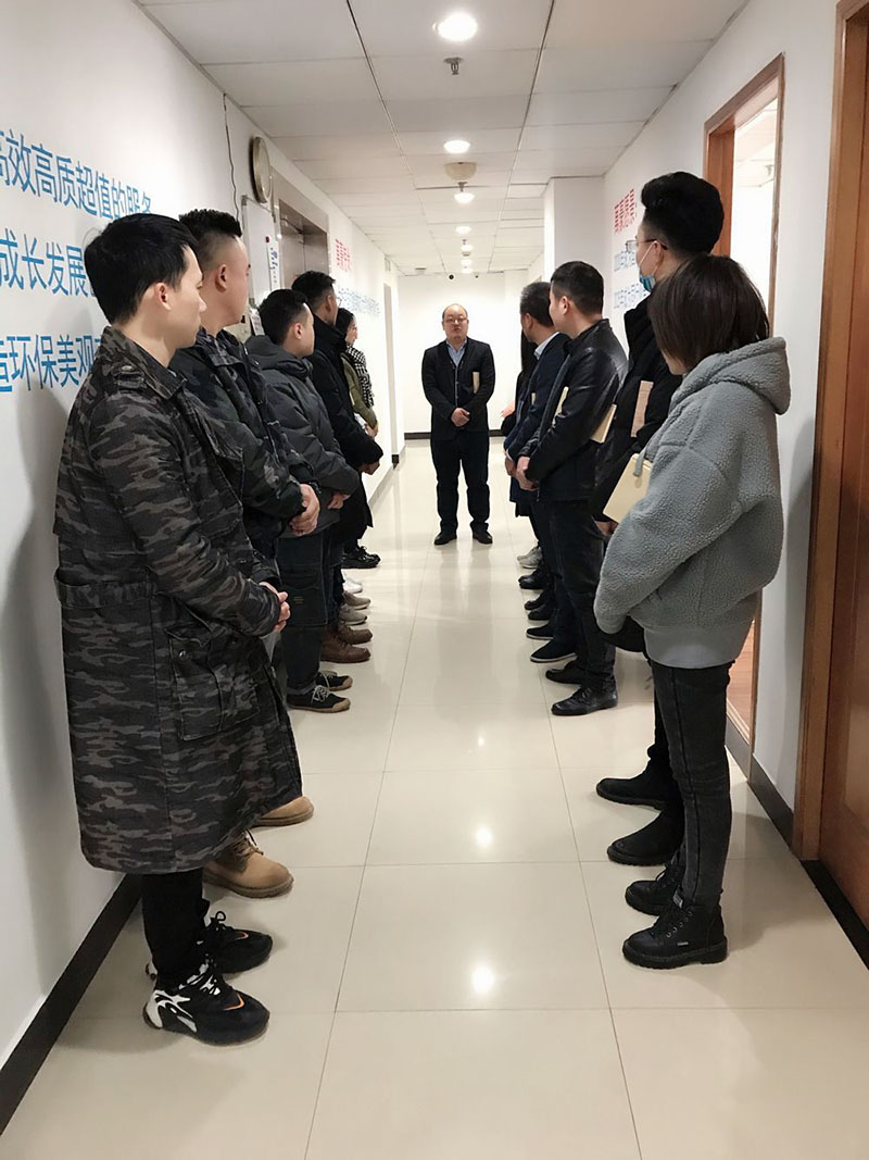 Wanhao Spatial Structure Benefit: Give cash rewards to the manager of the construction department of the Weihai Economic and Trade Exchange Center