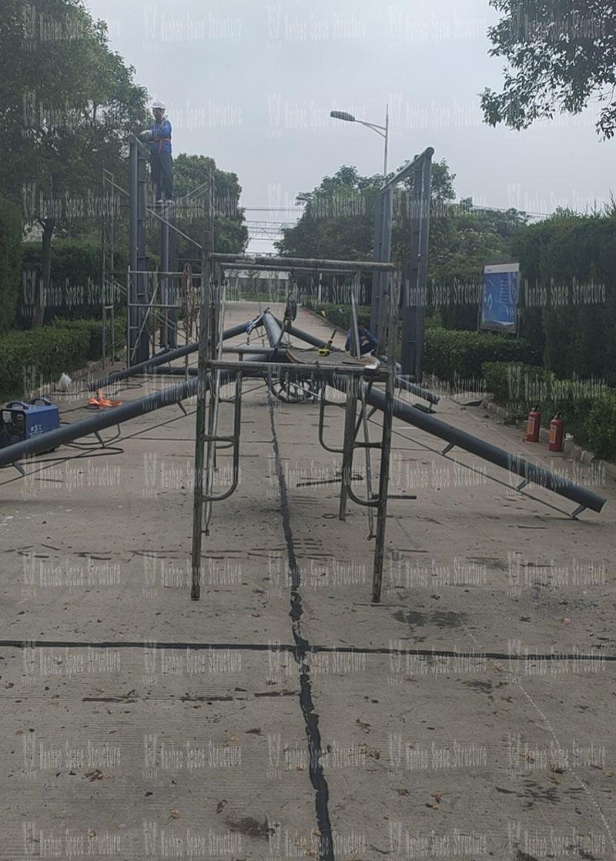 Bozhou sewage treatment plant phase I oxidation ditch seal upgrading project started construction