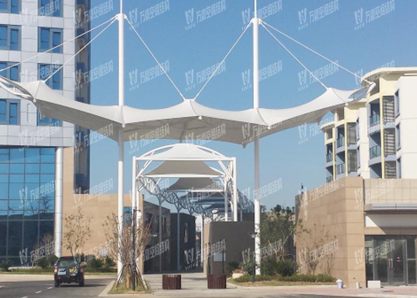 Zhoushan Hengduhui Commercial Plaza Membrane Structure Project