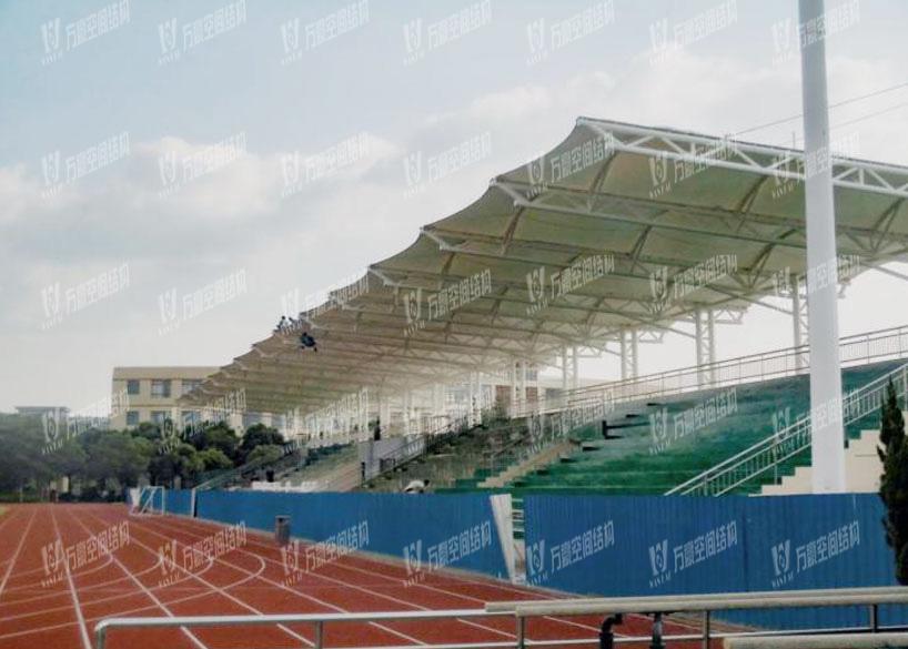 Shanghai Qingpu Middle School Stadium Membrane Structure Project
