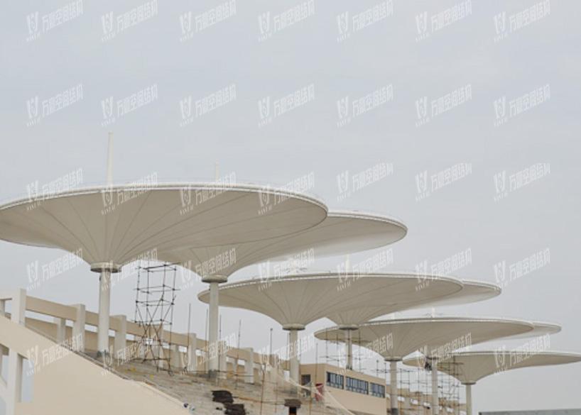 Changzhou University Stadium Membrane Structure Project