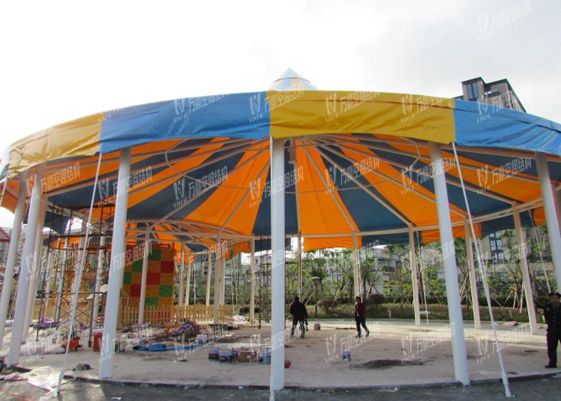 Zhoushan Childrens Park Membrane Structure