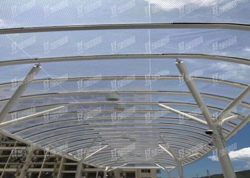 Shenzhen Bus Station Canopy Membrane Structure Project