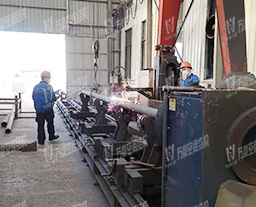 Intersecting Line Cutting machine