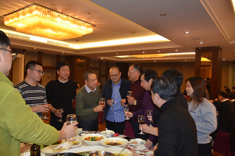 Wanhao space structure participated in 2019 Ningbo curtain wall technology exchange meeting