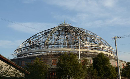 Tianhua Large Stage Shaped Steel Structure Project