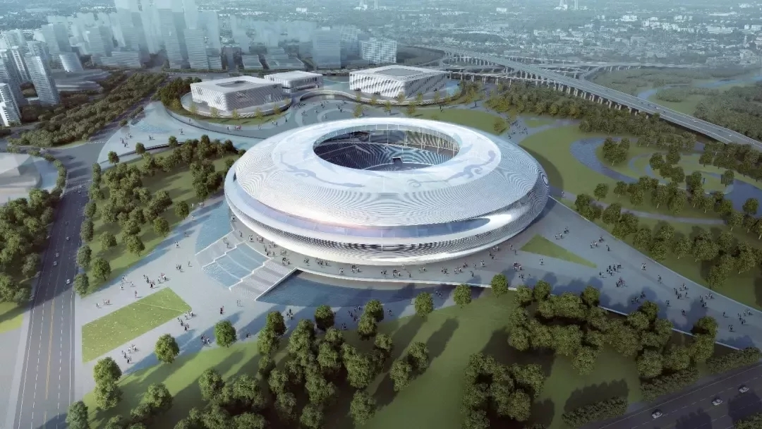 The main hall of Chengdu Universiade enters into the steel structure construction, and the