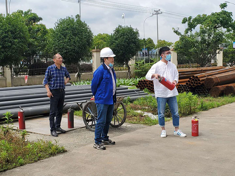Wanhao Space Structure Fire and Explosion-proof Emergency Drilling Activity Completed Successfully