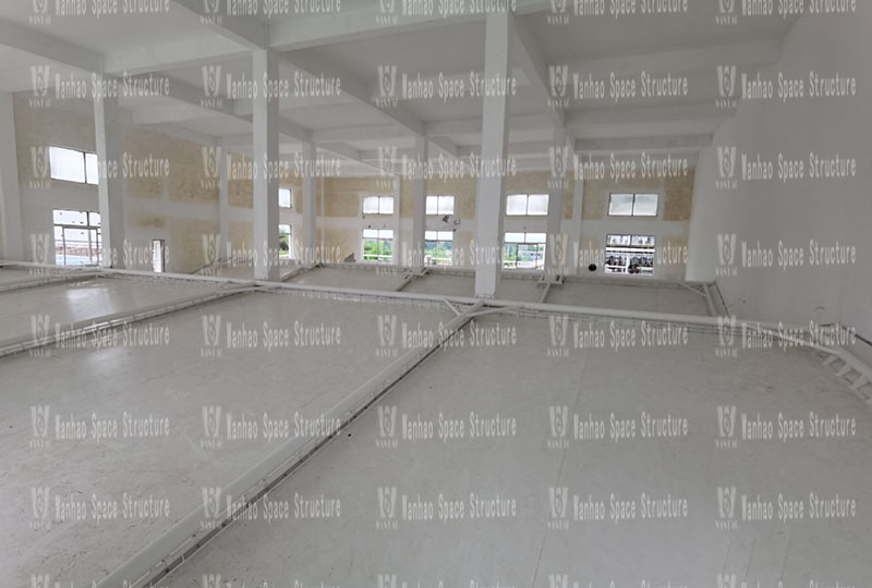 Zhejiang Xianju Pharmaceutical Co., Ltd. Wastewater Station Indoor Steel Membrane Structure Project
