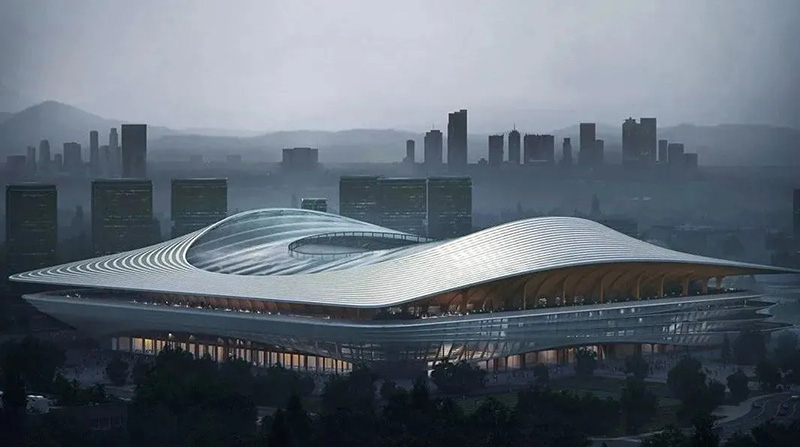 ZHA New Work — Xi'an International Football Center