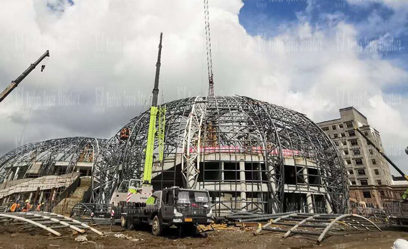 Membrane structure project of Sichuan Pengshan Training Base