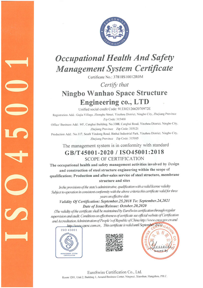 Chinese Occupational Health and Safety Management