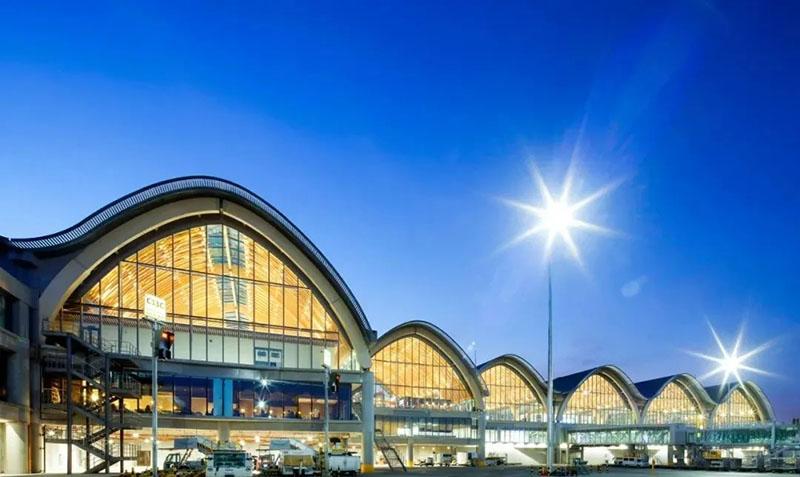 [Timber structure] Cebu Airport Terminal