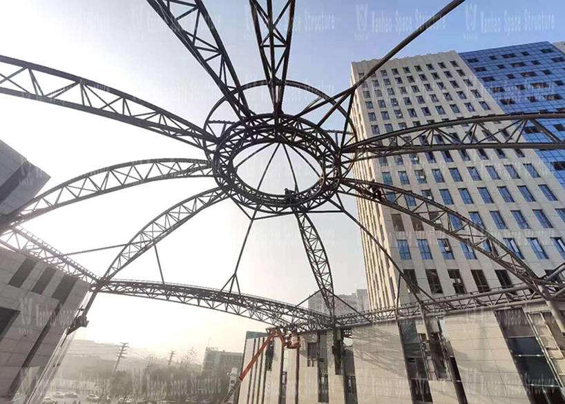 Xintai Excellence·Fortune Plaza Special-shaped Steel Structure Project
