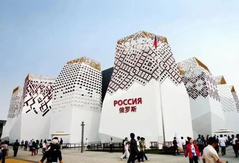 The 4 reserved venues of the Shanghai World Expo are under [big update]