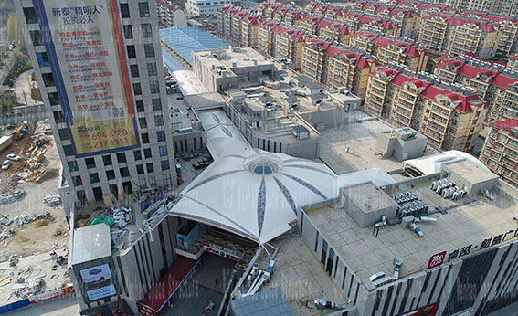 Xintai Excellence·Fortune Plaza Membrane Structure