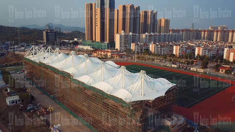 Where are the manufacturers of membrane structure stands? How to choose high-quality membrane structure building manufacturers?