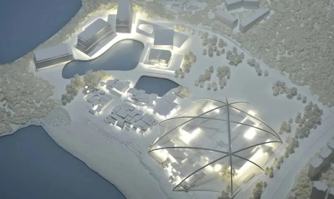 What would happen if the village under the dome landed?