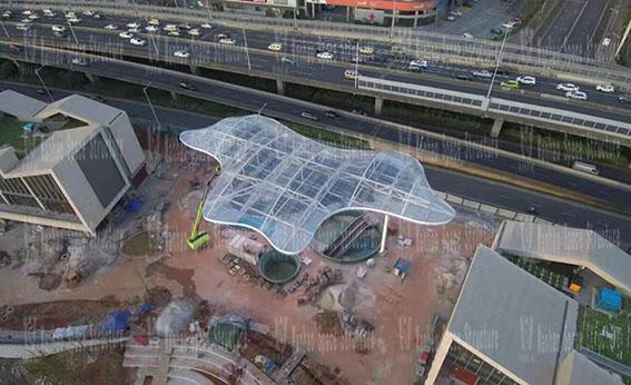 Changsha Guitang Sponge Demonstration Park Construction Project ETFE Membrane Structure Project