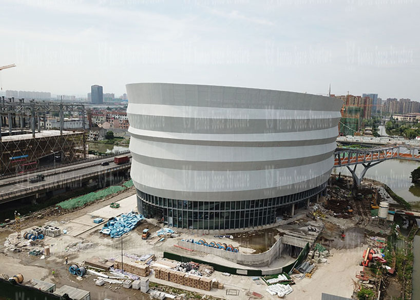 Shaoxing International Convention and Exhibition Center Phase I Conference Center B Area PTFE Facade Mesh Membrane Project