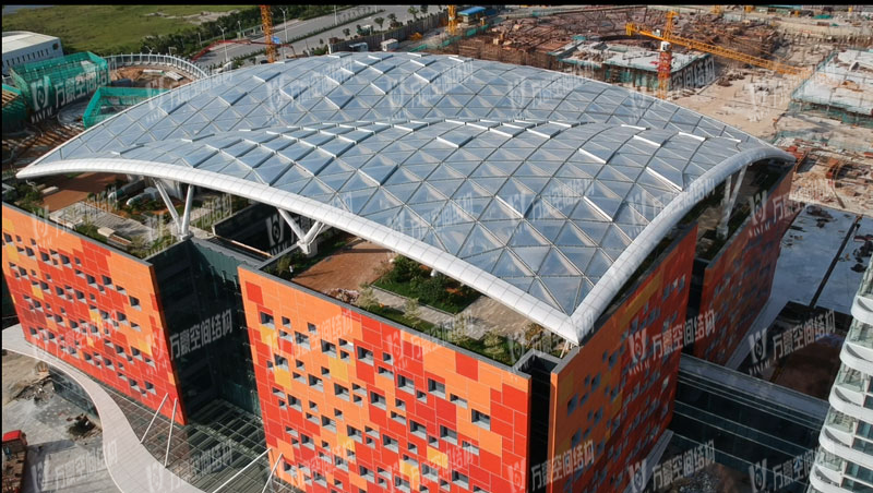 China and Latin America International Conference Center ETFE roofing Membrane Structure Project