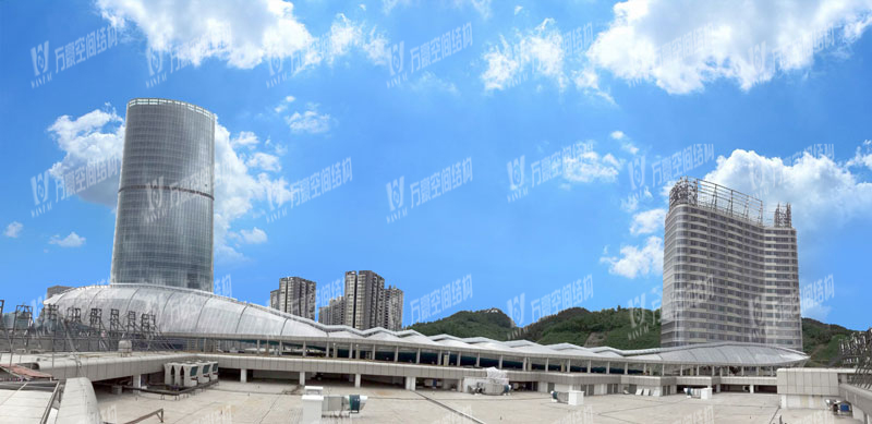 Zunyi High-speed Rail New Town ETFE Roofing Project