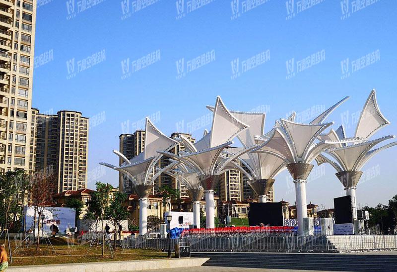 Dongguang Dongjiangxian PTFE Mesh Coating Membrane Structure Project