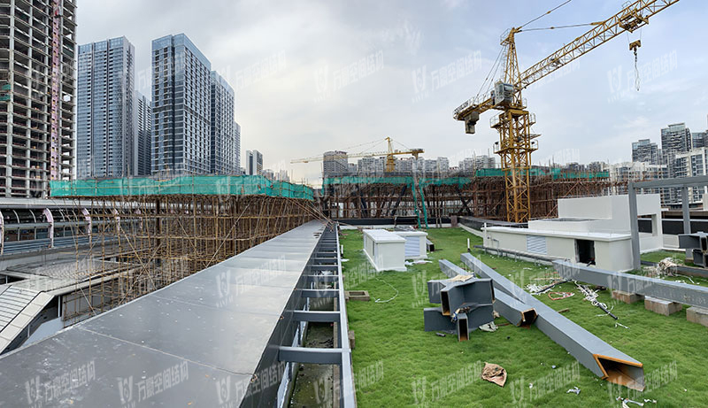 Shenzhen Longhua Subway Station ETFE Roofing Project
