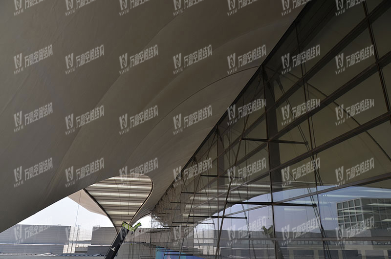 Qingdao Hongdao International Exhibition Center Facade Membrane Structure Project